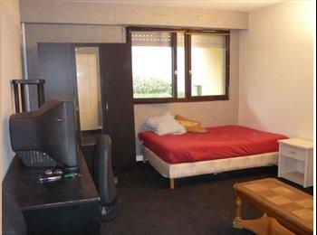 grande chambre meublée dans un grand F4 proche CRETEIL