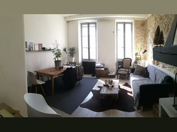 Chambre 11m2 dans appartement de 75m2 pour colocation saine...