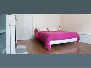 Appartager FR - Chambre lumineuse à louer pour des étudiants dans un manoir de luxe - 6ème Arrondissement, Lyon - 550 € /Mois