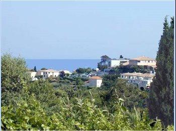 Appartager FR - F2 indépendant Nice ouest. TERRASSE JARDIN VUE MER - Collines niçoises, Nice - 850 € /Mois