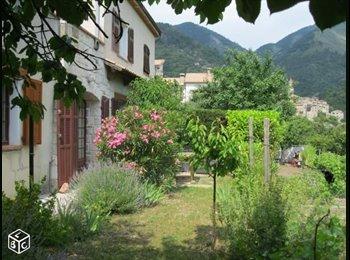 Appartager FR - Appartement en rez de villa/jardin - Lucéram, Lucéram - 680 € /Mois