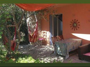 Chambre dans villa avec jardin au calme à Montpellier