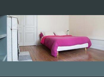 Appartager FR - Chambre lumineuse à louer pour des étudiants dans un manoir de luxe dans Brotteaux - 6ème Arrondissement, Lyon - 550 € /Mois