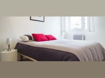 Appartager FR - Appartement 2 chambres élégant avec balcon à louer dans le troisième arrondissement - Villeurbanne, Lyon - 1500 € /Mois