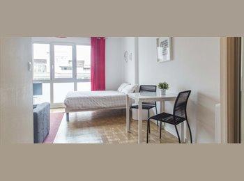 Appartager FR - Studio lumineux Appartement à louer à La Villette - 3ème Arrondissement, Lyon - 1250 € /Mois