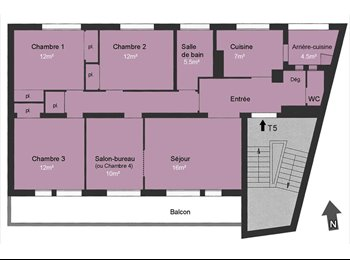 Appartement Type5 100m2