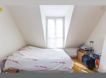 Appartager FR - Chambre à louer dans coloc sympa 120m² Paris 17 - 17ème Arrondissement, Paris - Ile De France - 763 € /Mois