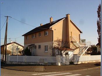 Appartager FR - Maison spacieuse à Rixheim, Mulhouse - 410 € /Mois
