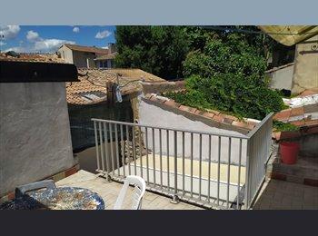 Appartager FR - chambre dans coloc étudiante Intra muros + terrasse, Avignon - 330 € /Mois
