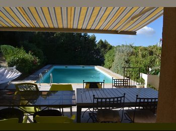 Appartager FR - chambre dans belle villa 1er /09, Roquevaire - 500 € /Mois