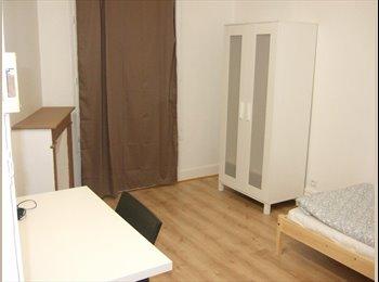Grande chambre meublée en colocation, Drancy centre ville