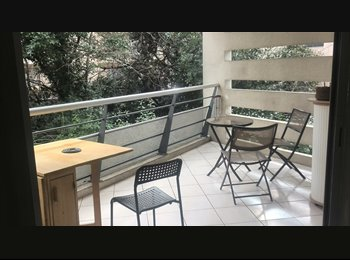 Appartager FR - belle chambre et salon dans grand appartement 200 m du tram - Les Cévennes, Montpellier - 450 € /Mois