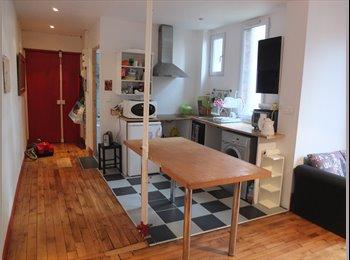 Appartager FR - Chambre à louer dans appartement meublé métro Garibaldi et Mairie de St Ouen - Saint-Ouen, Paris - Ile De France - 550 € /Mois