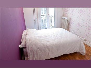Appartager FR -  Rénové 1 Lit plat avec de hauts plafonds en Vaugirard, Paris - 1er Arrondissement, Paris - Ile De France - 1590 € /Mois