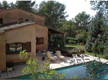 Appartager FR - très grande maison - Valbonne, Cannes - 3250 € /Mois
