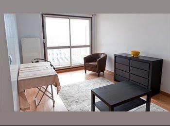 Studio ensoleillé avec balcon à Boulogne-Billancourt