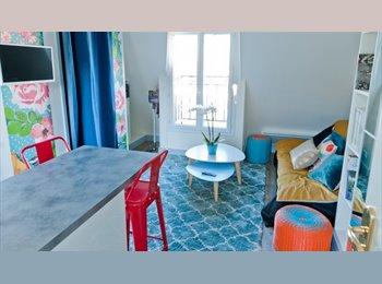 Appartager FR -  Studio moderne avec balcon proche de Le Jardin du Luxembourg - 1er Arrondissement, Paris - Ile De France - 950 € /Mois