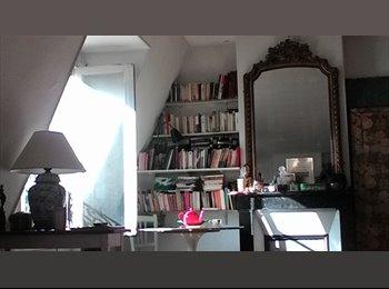 Appartager FR - Grande chambre lumineuse dans 80 m2 - 17ème Arrondissement, Paris - Ile De France - 750 € /Mois