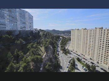 Appartager FR - T4 Rouviere  70 m2 - Belle vue - toutes commodités, Marseille - 450 € /Mois