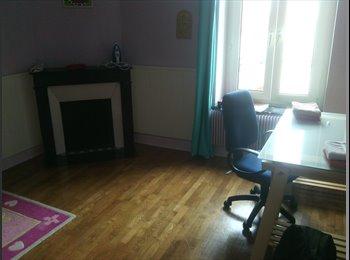 Chambre disponible dans grand appartement