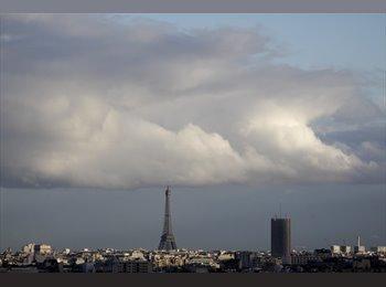Chambre Meublée tout confort Avec Vue Tour Eiffel !