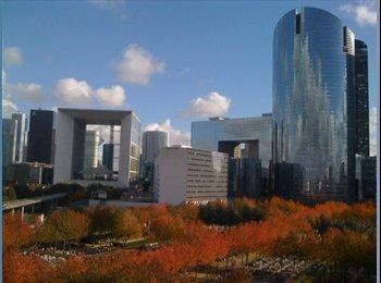 Loft duplex 120m2 avec vue panoramique sur La Grande Arche!