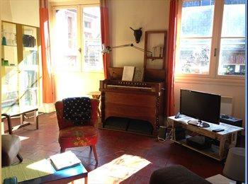 Appartager FR - Apaprtement de charme entre Esquirol et Les Carmes, chambre meublée ou non. - Les Carmes, Toulouse - 360 € /Mois