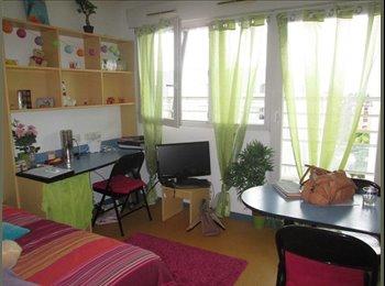 Appartager FR - Chambre meublée à louer de suite, idéale pour STAGIAIRE - Esplanade, Strasbourg - 370 € /Mois