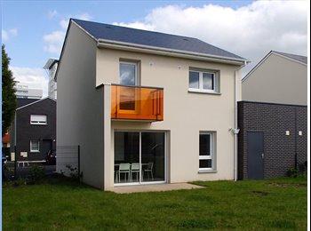 Appartager FR - Chb dans une maison neuve colocation - Saint-Etienne-du-Rouvray, Rouen - 420 € /Mois