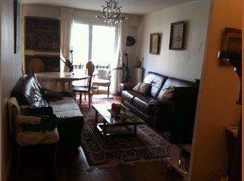 Appartager FR - Chambre à louer dans un grand appartement à 15e Paris (près de tour Effel), 15ème Arrondissement - 680 € /Mois