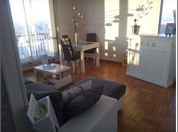 Appartager FR - Superbe T4 centre-ville , ultra design, pour coloc à deux nanas !  - Dijon, Dijon - 550 € /Mois