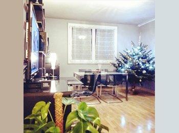 Appartager FR - T3 à Bruges dans belle résidence, chambre meublée avec lit double  - Bruges, Bordeaux - 340 € /Mois