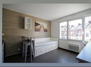 Appartager FR - STUDIO RENOVE AU CENTRE DE LILLE - SDB et WC privés - Lille-Centre, Lille - 515 € /Mois