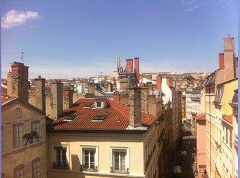 Appartager FR - Colocation // 100m2 // Plein centre - 1er Arrondissement, Lyon - 400 € /Mois