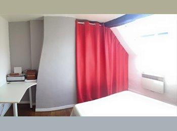Appartager FR - Chambre dans Triplex dans le coeur d'Orléans, Orléans - 430 € /Mois