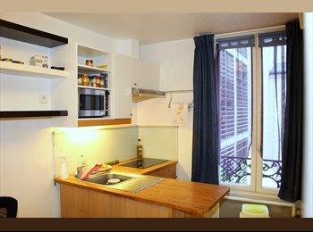Appartager FR - Beau studio meuble près du Canal St. Martin, 19ème Arrondissement - 620 € /Mois