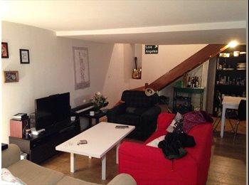 Chambre dans duplex de 120m² - Beaubourg
