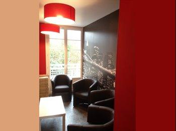 Appartager FR - grde chbre meublée, dans appart, hyper centre prox fac et tram, Caen - 390 € /Mois