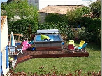 Appartager FR - jolie villa proche de tout/tramway/piscine/spa/salle de sport, Pérols - 600 € /Mois