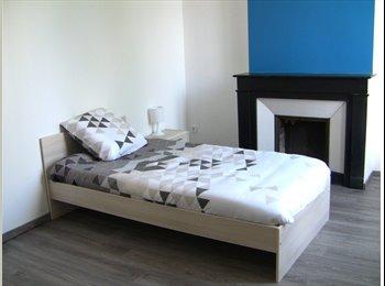 Location chambre meublée 12m²  dans appartement remis à...