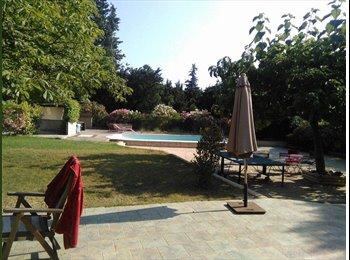 Appartager FR - Villa aix piscine, Aix-en-Provence - 605 € /Mois
