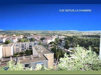 Appartager FR - Dernier étage 10/10 avec ascenseur. Vues très dégagées., Montpellier - 249 € /Mois