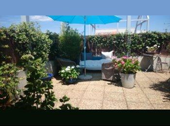 Appartager FR - Appartement duplex avec grande terrasse à partager, Montpellier - 346 € /Mois