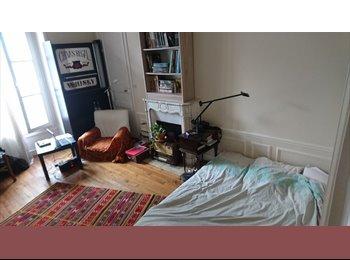 Chambre dans colocation 2 personnes - Paris 10eme