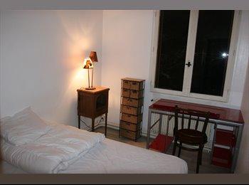 Appartager FR - F2 90 m2 indépendant  en pavillon pour 2 à 3 colocataires , Paris - Ile De France - 550 € /Mois