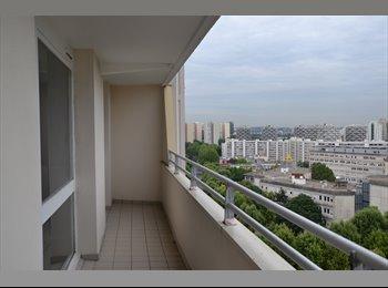 Appartager FR - F2 EN LOCATION OU COLOCATION, Paris - Ile De France - 950 € /Mois