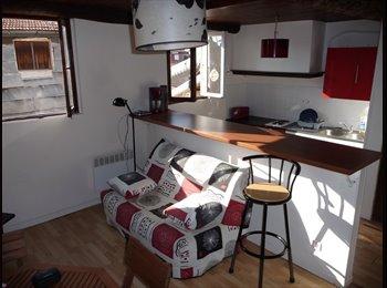 Appartager FR - 3P au niveau des toits dans le Vieux-Nice ( 1 chambre à louer en colocation ), Nice - 500 € /Mois