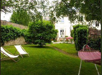 Appartager FR - Rd pt de Paris, 4 ch dans grande maison en coloc, Nantes - 450 € /Mois