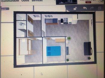 Appartager FR - Appartement F3 refait entierement neuf, Perpignan - 500 € /Mois