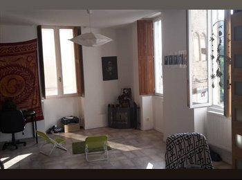 Loue chambre dans bel appartement en plein centre ville